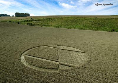 Chirton Bottom,  Chirton, Wilts |  5th Sept 2020 | Wheat | L3