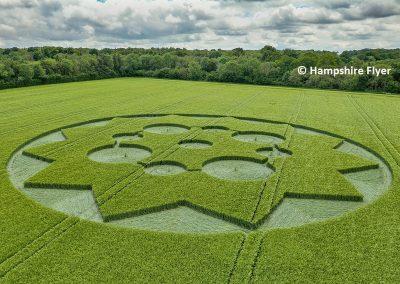 Crawley Down, Hants | 8th June 2021 | Barley | 200ft Approx | L