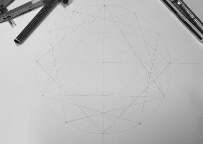 South Wonston, Hants 2021 | Triangle sizes inner circle | by Karen Alexander