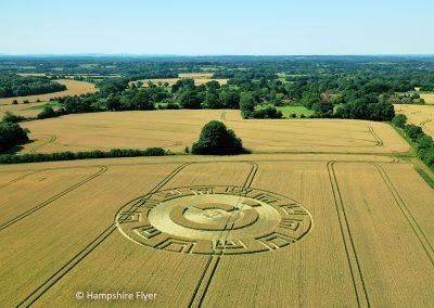 Upham, Hants | 18th July 2021 | Wheat | L