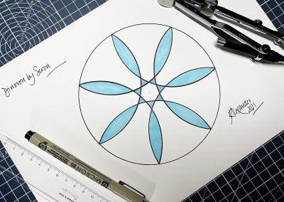 Ludgershall 2021 | Flower of Spirit | By Karen Alexander