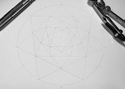 Ludgershall 2021 | Pencil-line | By Karen Alexander