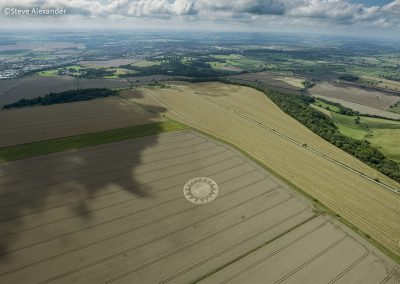 Roundway Hill, Wilts | 15th August 2021 | Wheat | HL/SA